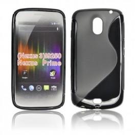 Husa silicon Samsung Nexus prime i9250 negru