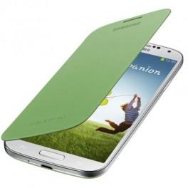 Husa Samsung Flip Cover EF-FI950BGEGWW pentru Galaxy S4, Verde