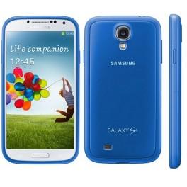 Husa Samsung Cover pentru Galaxy S4, Blue